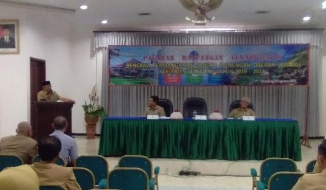 Paparan Rancangan Teknokratik, RPJMD Lumajang