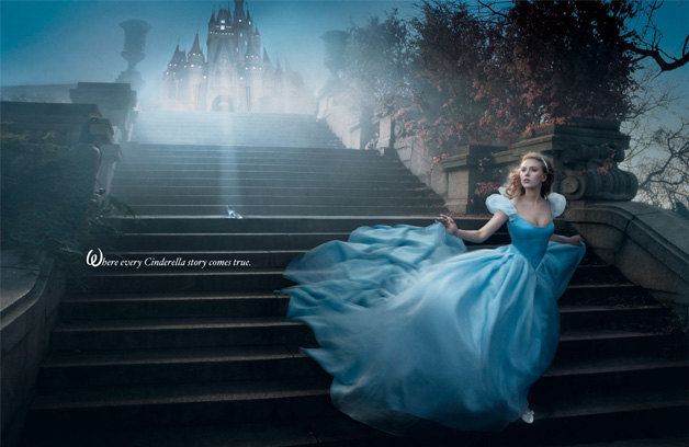Cinderella Disney Dream Portrait Annie Leibovitz