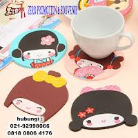 Tatakan gelas karet / rubber coaster