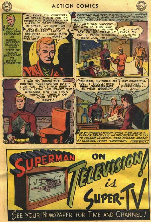 Read online Action Comics (1938) comic -  Issue #202 - 22