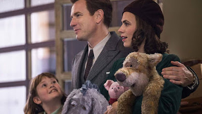 Christopher Robin 2018 Disney movie Winnie the Pooh Ewan McGregor Hayley Atwell