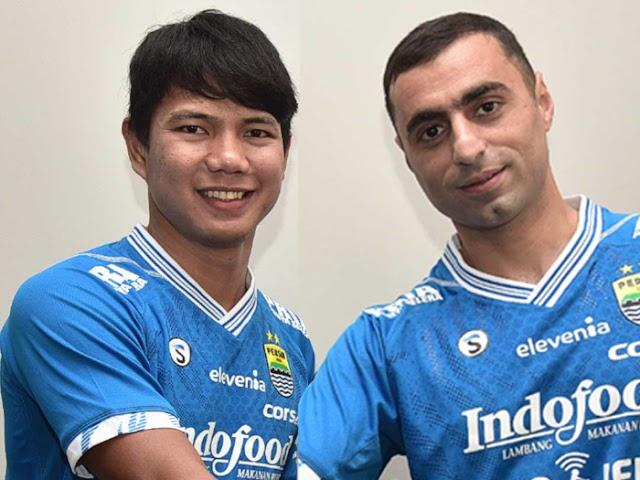Jupe dan Artur Gevorkyan, Amunisi Baru Persib Bandung
