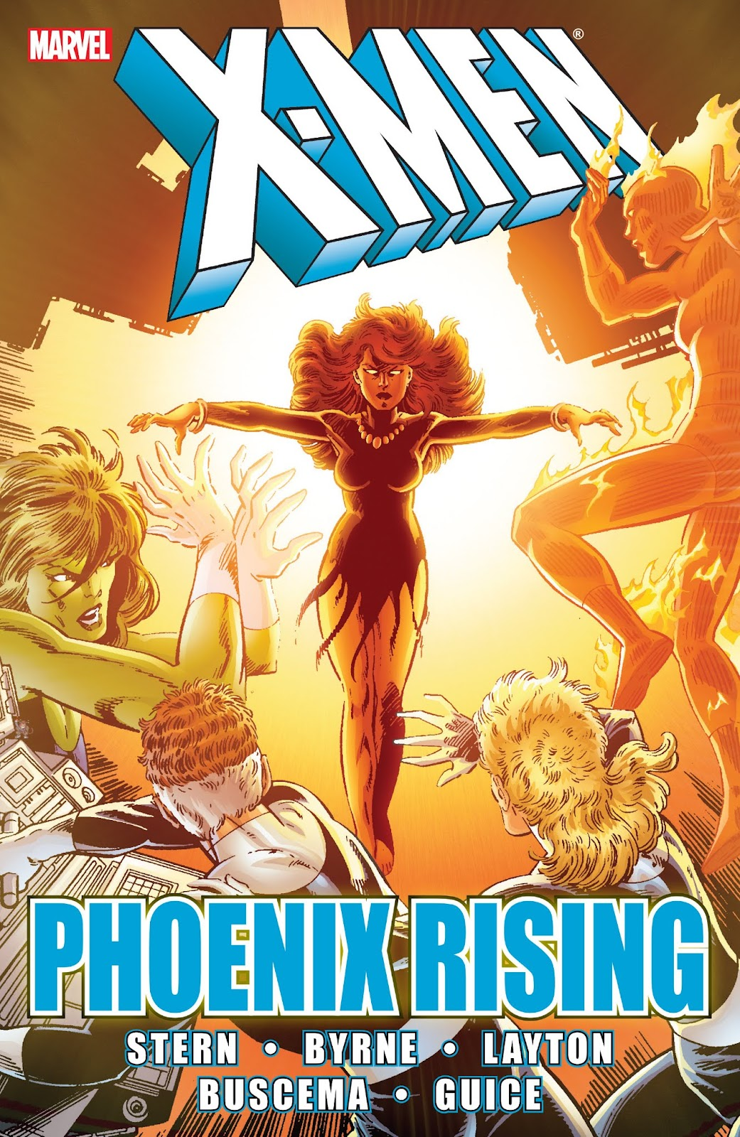 Read online X-Men: Phoenix Rising comic -  Issue # TPB - 1