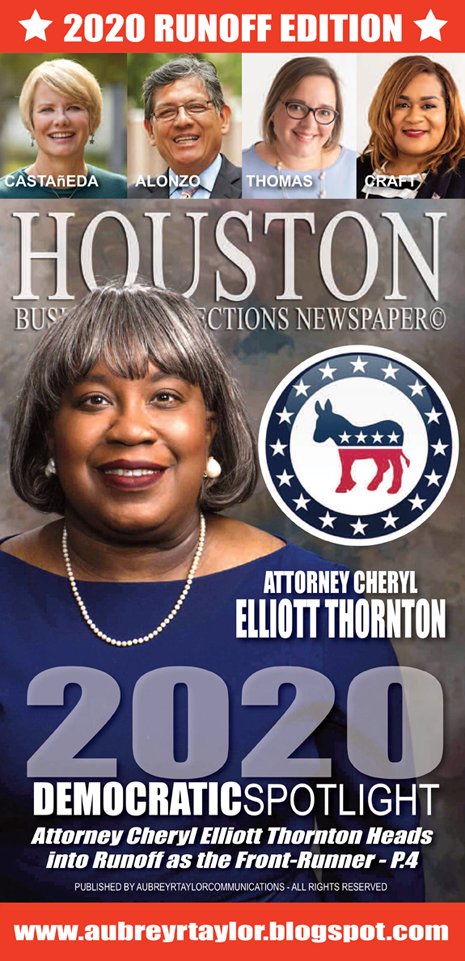 Cheryl Elliott Thornton Democratic Candidate for Judge, 164th Civil District Court