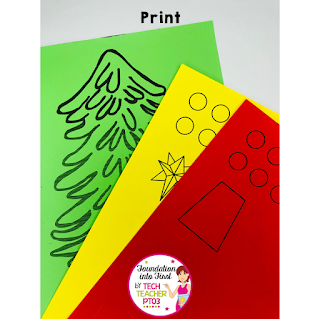 Free download. Easy last minute Christmas Crafts for kids. Free printable sheets and activities for young children. Perfect for teachers and early primary educators.