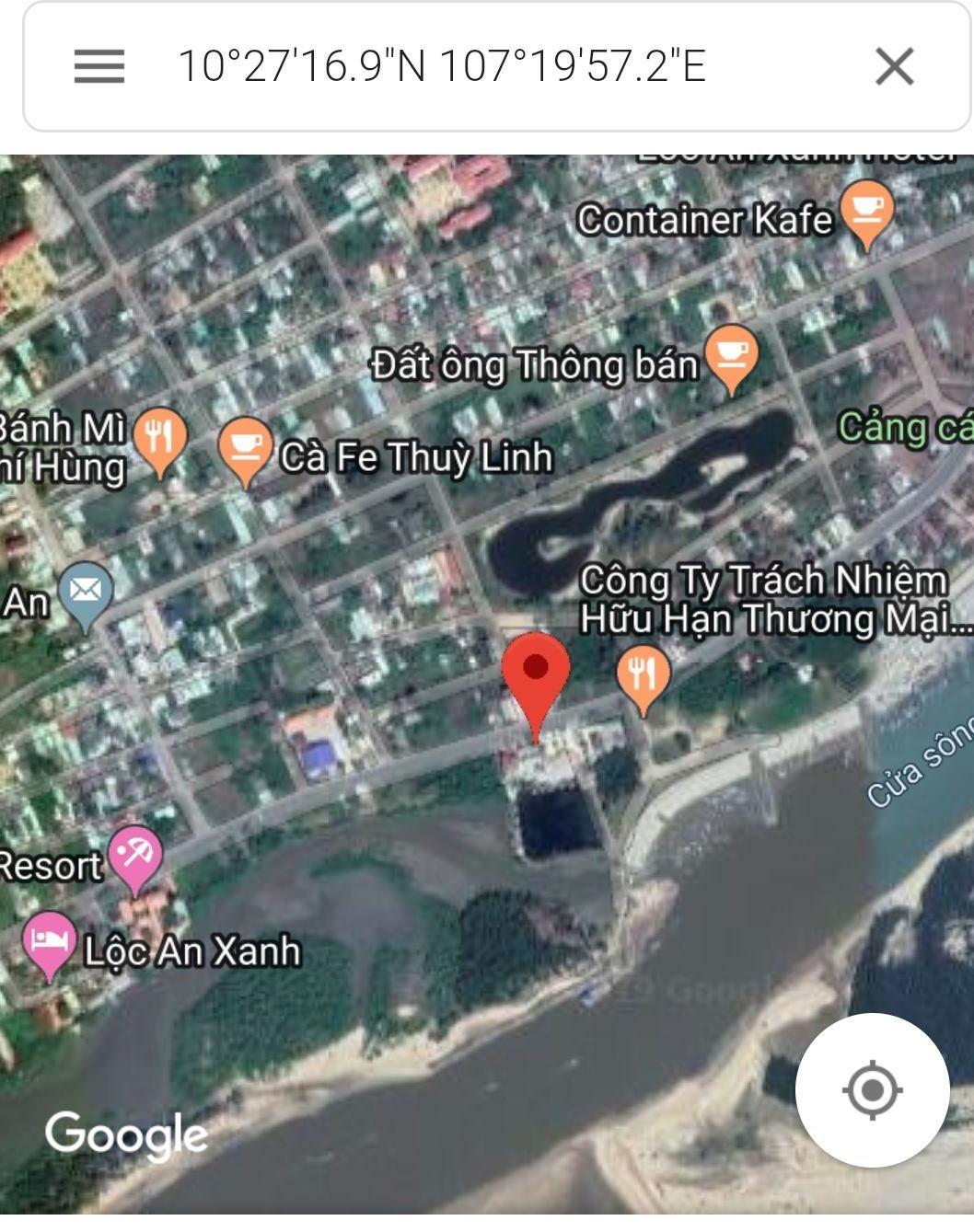 Bán nhanh lô đất mặt tiền đường ven biển Lộc An
