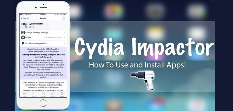 Download Cydia Impactor to Install IPA files on iOS and APK on Android