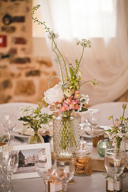 Décoration champêtre mariage