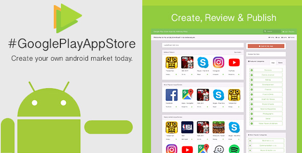 Free Download Google Play App Store [CMS] v1.6