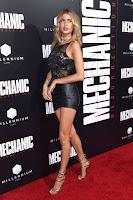 Gemma Vence best red carpet dresses Mechanic Resurrection Premiere