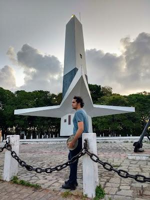Farol do Cabo Branco, em João Pessoa.