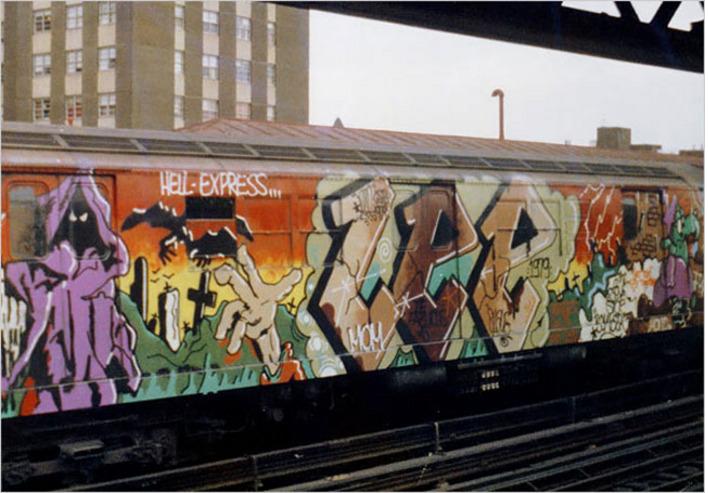 Die Geschichte Von Graffiti Graffiti Schrift Und Bilder