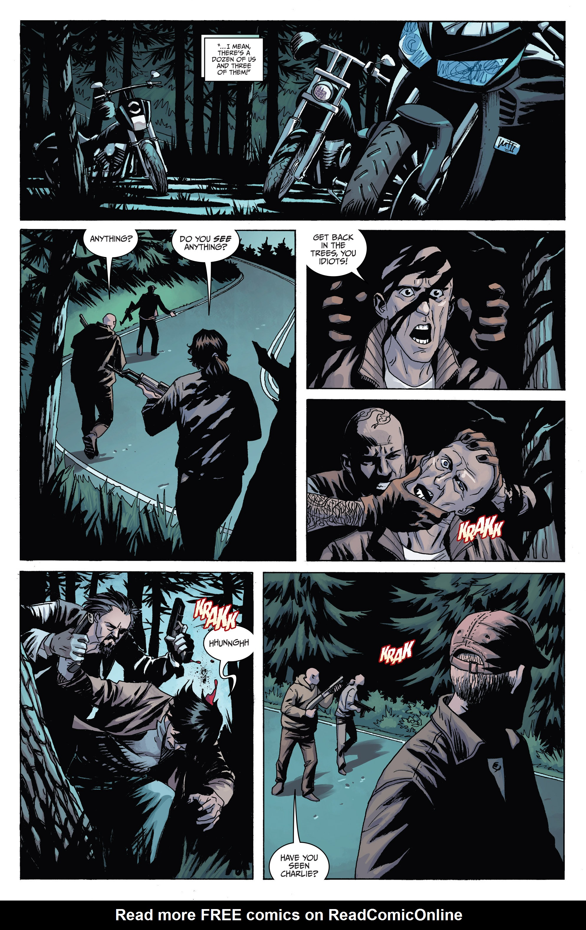 Read online Sons of Anarchy comic -  Issue #6 - 8