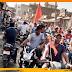 आरएसएस का नगर भ्रमण: नगाड़ा के साथ धुन पर तालमेल करते देख लोग हतप्रभ