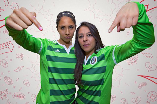 Adidas Mexico 2015 Women S World Cup Kit Released Footy