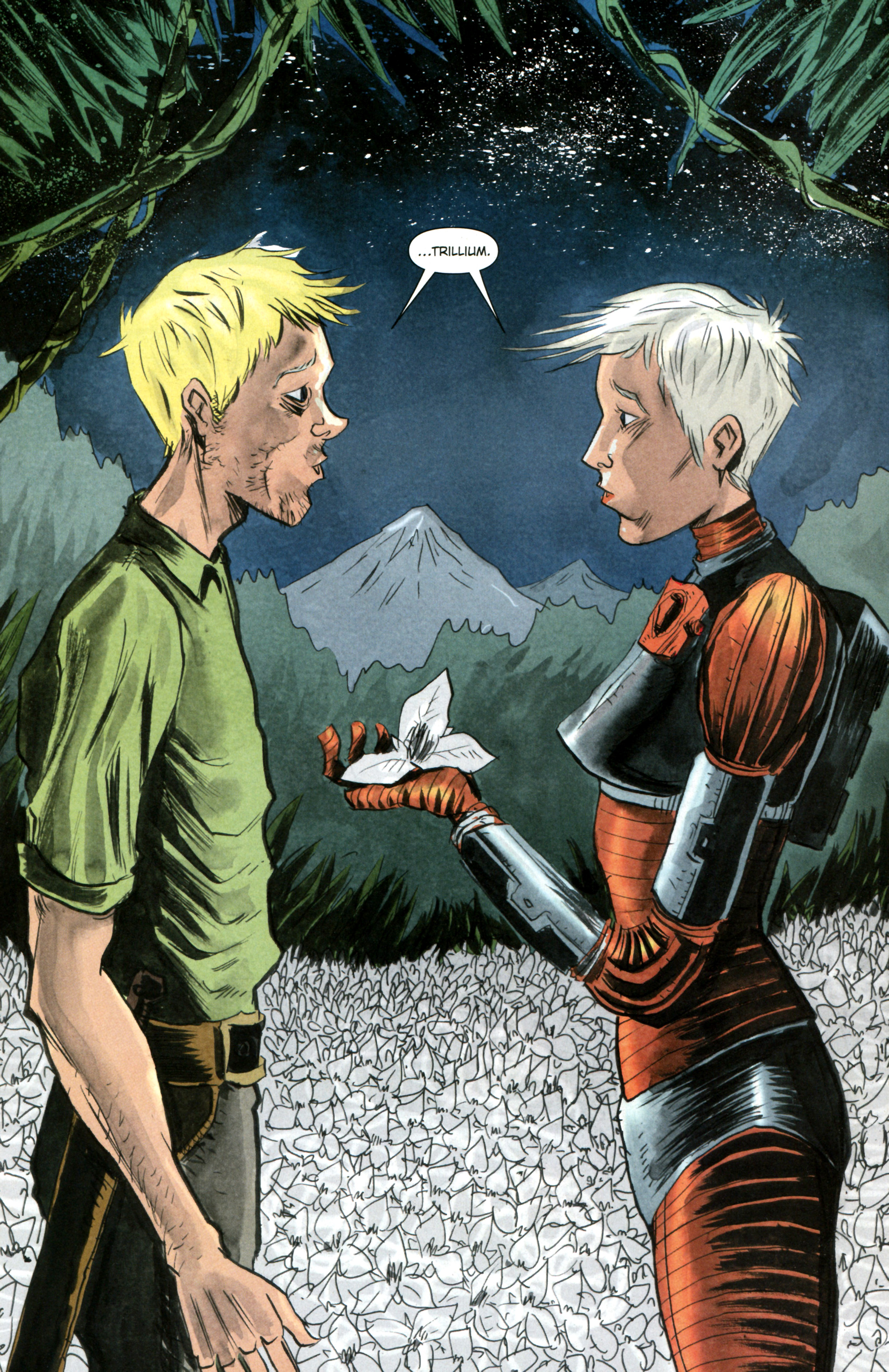 Read online Trillium comic -  Issue #2 - 14