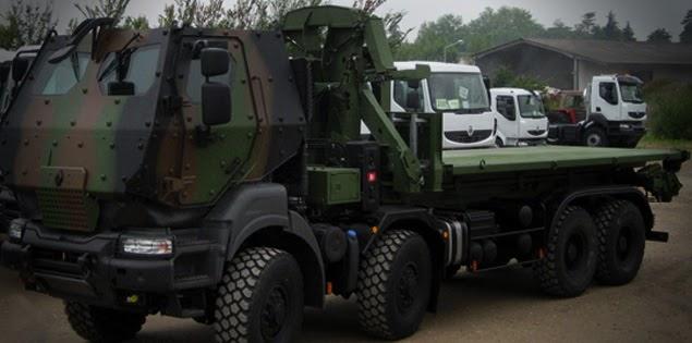 Desarrollo y Defensa: Camión Renault Kerax 8x8