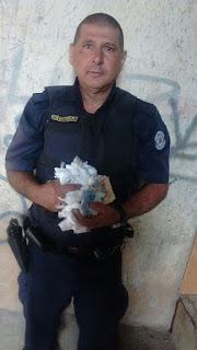 Tio e sobrinho são detido pela Guarda Municipal de Americana (GAMA) com 42 kits de cocaína 'nine-nine'