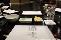 Table Setting at Tempura Endo Yasaka