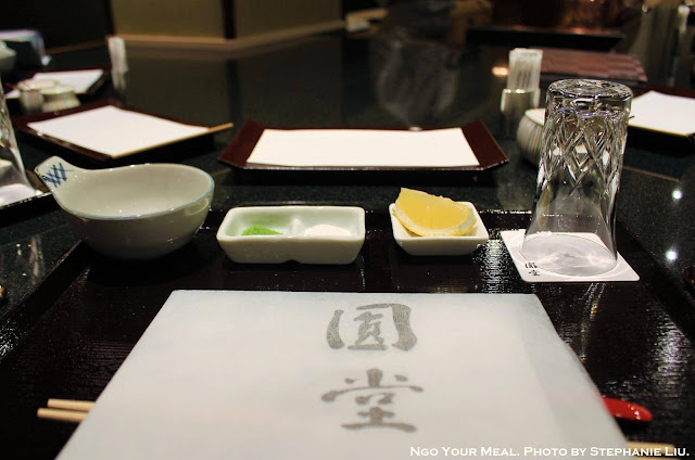 Table Setting at Tempura Endo Yasaka
