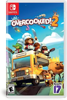 Overcooked! 2 boxart Nintendo Switch