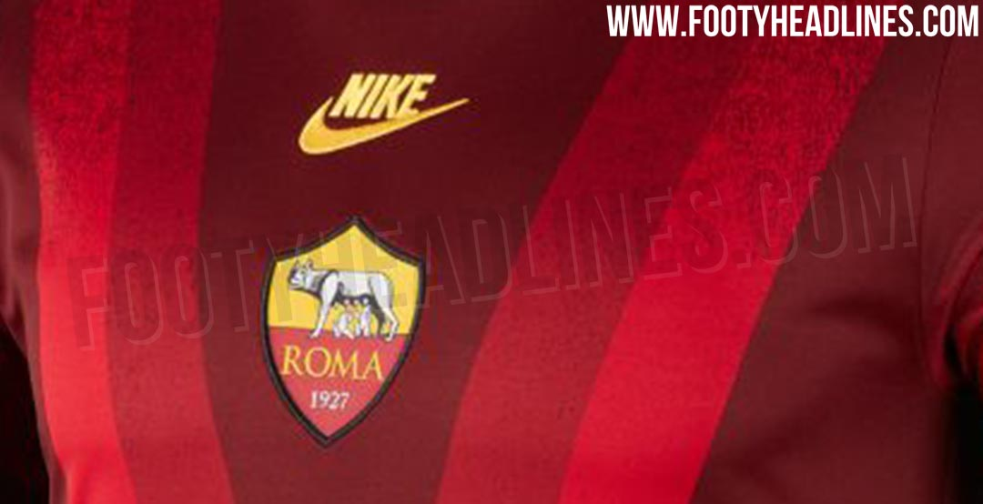 The Nike AS Roma 2019-2020 Champions League   Europa League pre-match jersey  will be launched together with the third kit 06a582f5b