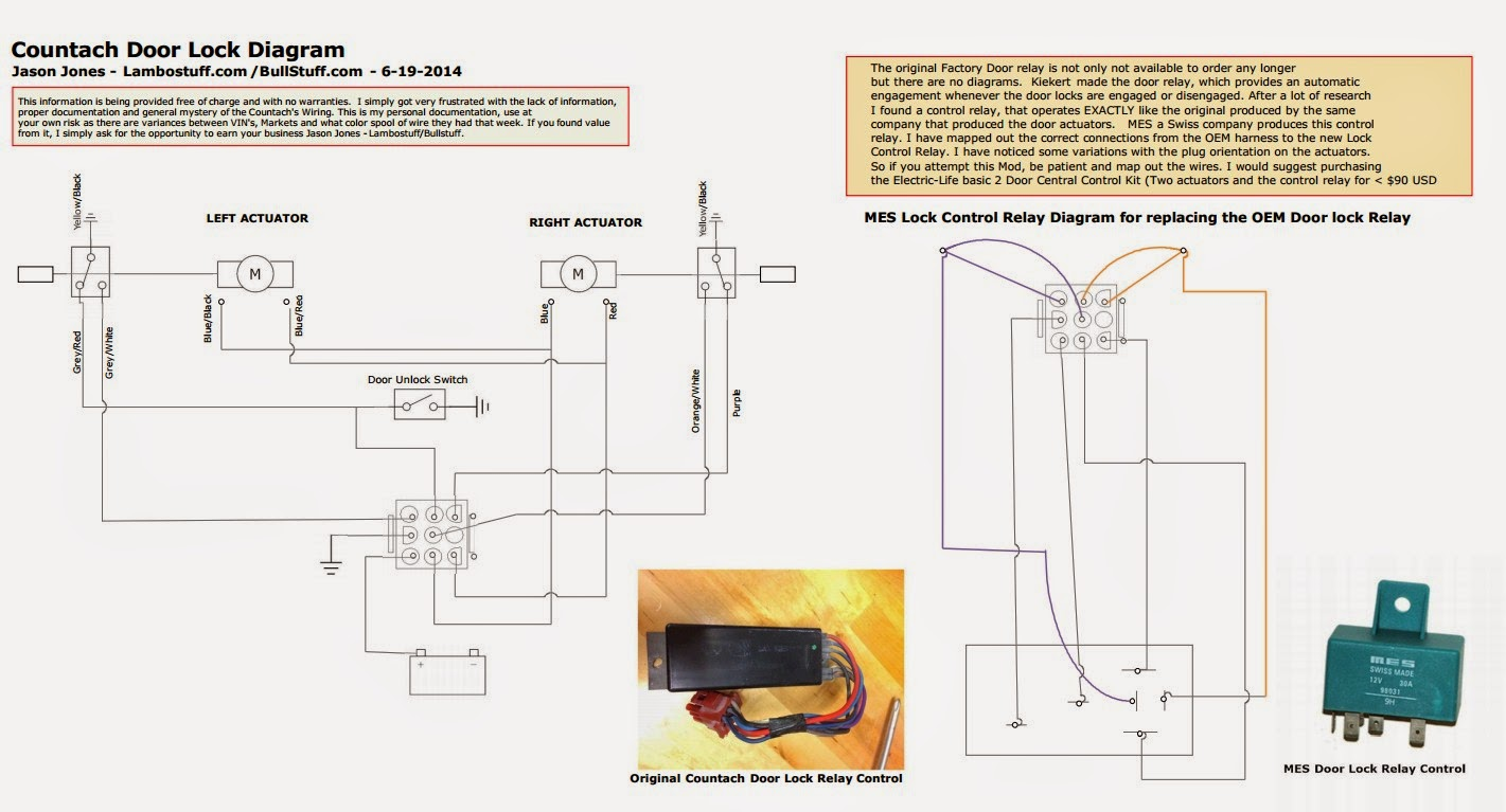 WRG-6760] 5 Pin Relay Wiring Diagram Door Lock