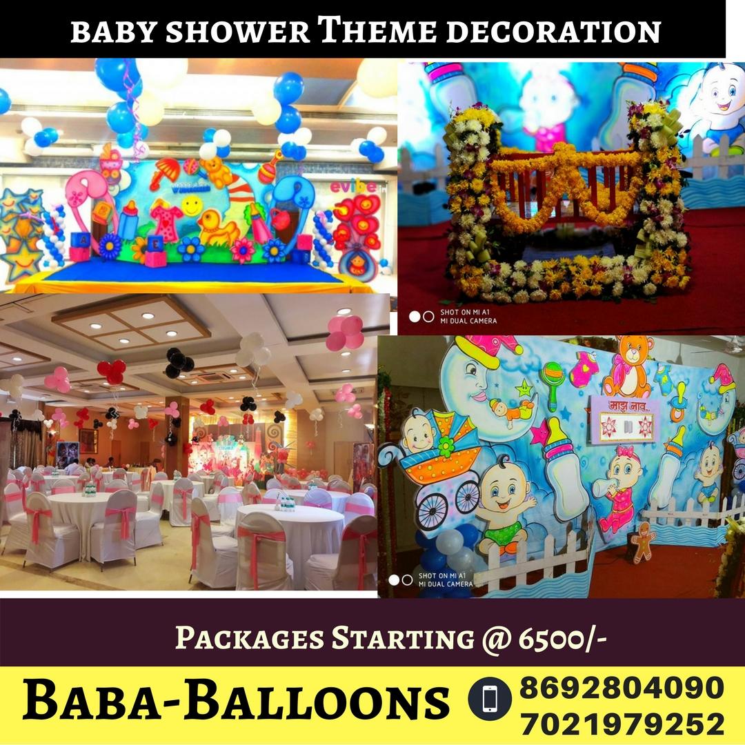 Kids Theme Birthday Party Organizers Thane And Mumbai Baby Shower