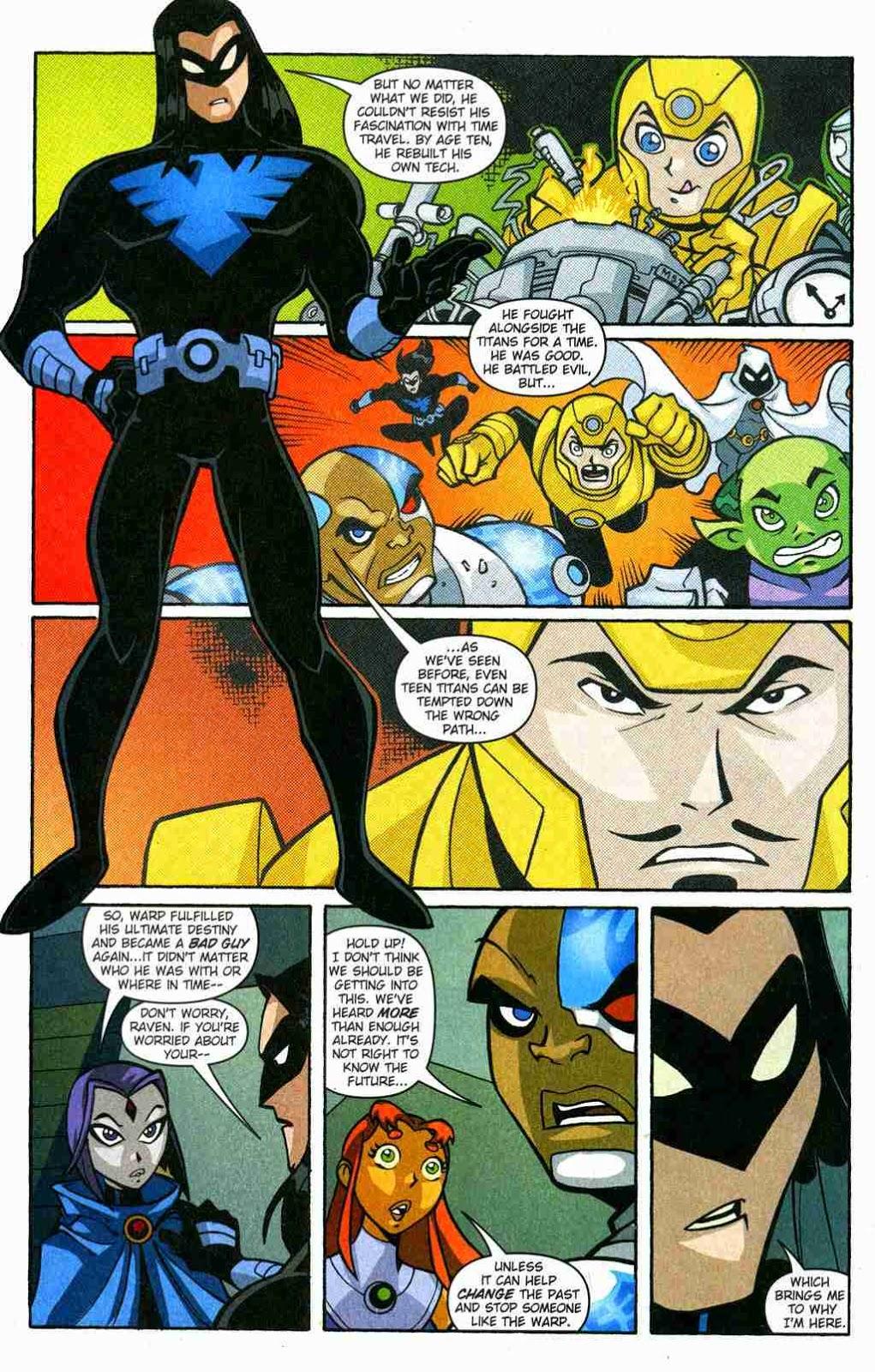 Teen Titans Go Comic Book Series-9106