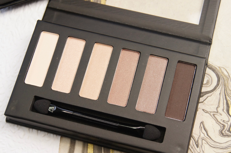 collection eyes uncovered nude eyeshadow palette review swatches