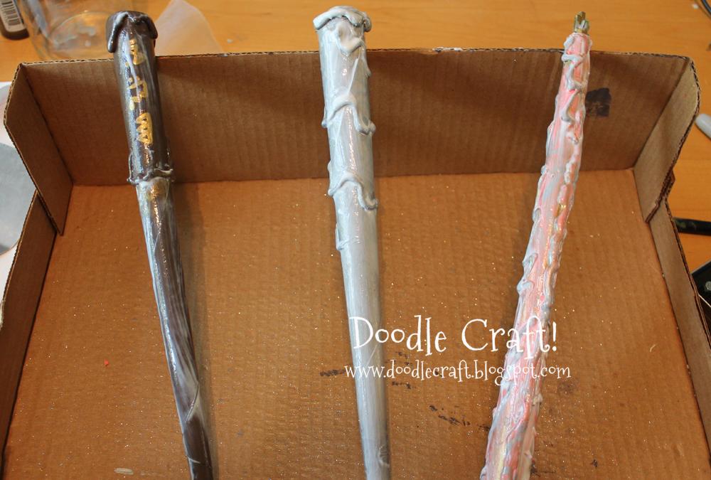 Doodlecraft harry potter wizard wands tbt - Coole wanddesigns ...