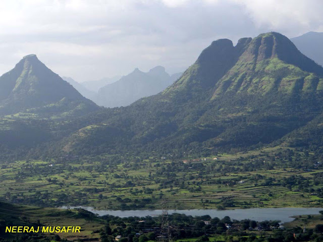 Western Ghat Hills in Maharashtra