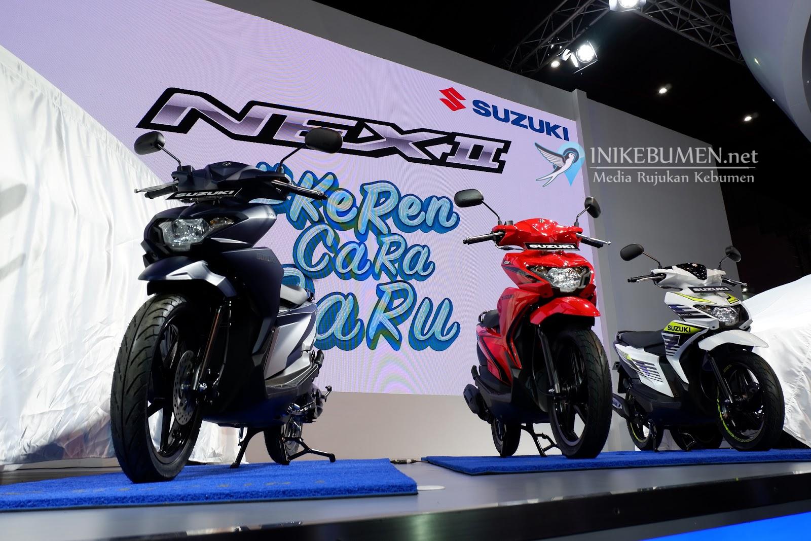 Suzuki Perkenalkan NEX II Kepada Publik Indonesia Untuk Pertama Kali