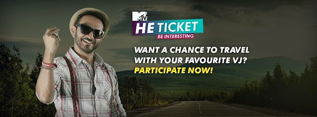 "MTV India and Emami He Deo to launch ""MTV He Ticket"" travel-based show from 9th,May,2015"