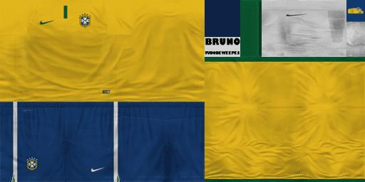 ca1922d702ec8 Uniforme Brasil 2014-2016 WE10