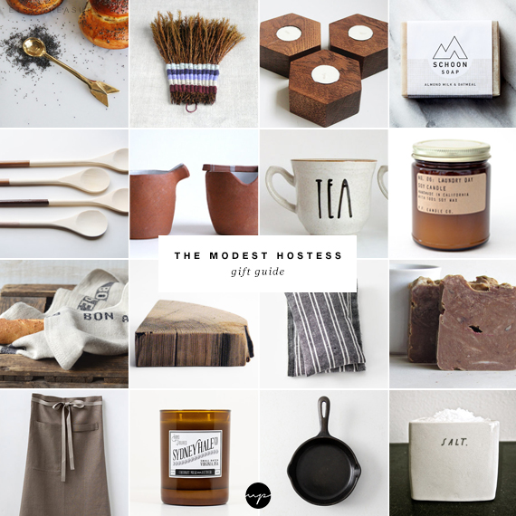 The modest hostess gift guide | My Paradissi