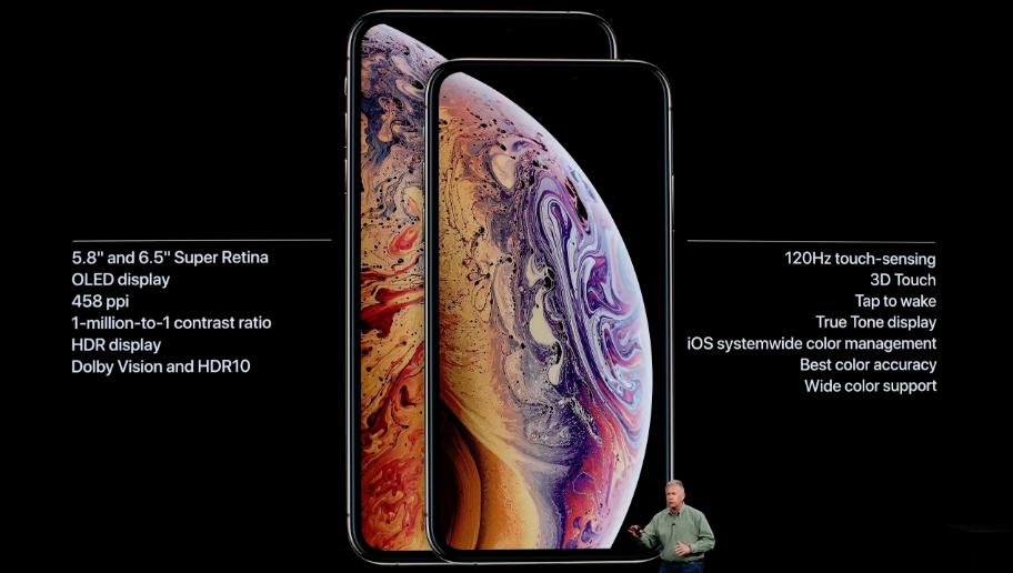 8f718b992 كشفت آبل النقاب عن ثلاثة هواتف آيفون جديدة ، اثنان منها هما الأكبر والأغلى  حتى الآن.