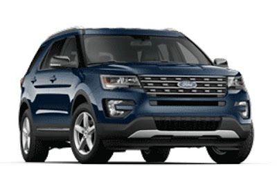 Ford Explorer dimensions: wheelbase, length, height, ground clearance