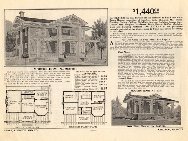sears 1914 homes catalog milton and no 178