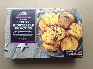 Tesco Finest Gluten Free Luxury Shortbread Selection