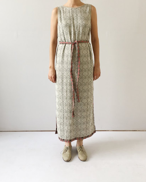 Ace & Jig Slipper Dress in Twine/Filigree