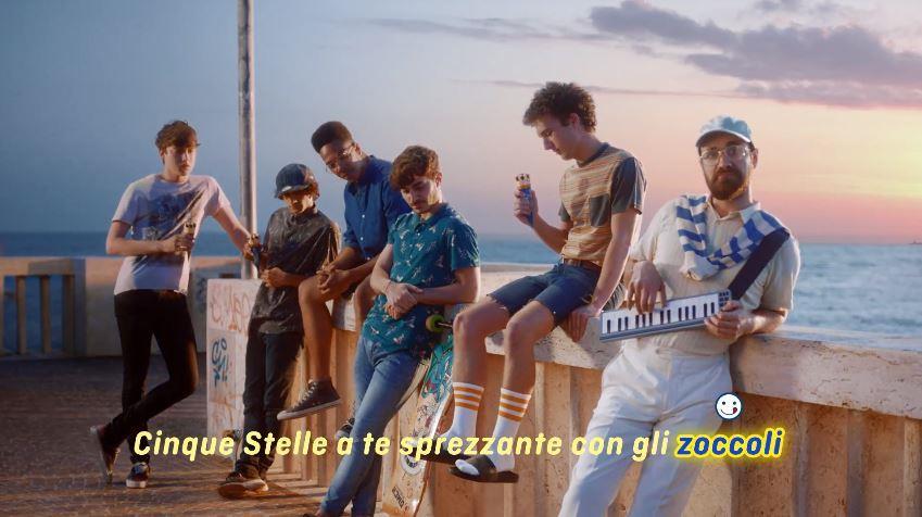 Canzone Sammontana Pubblicità Cinque Stelle alla nostra estate italiana, Spot Maggio 2018