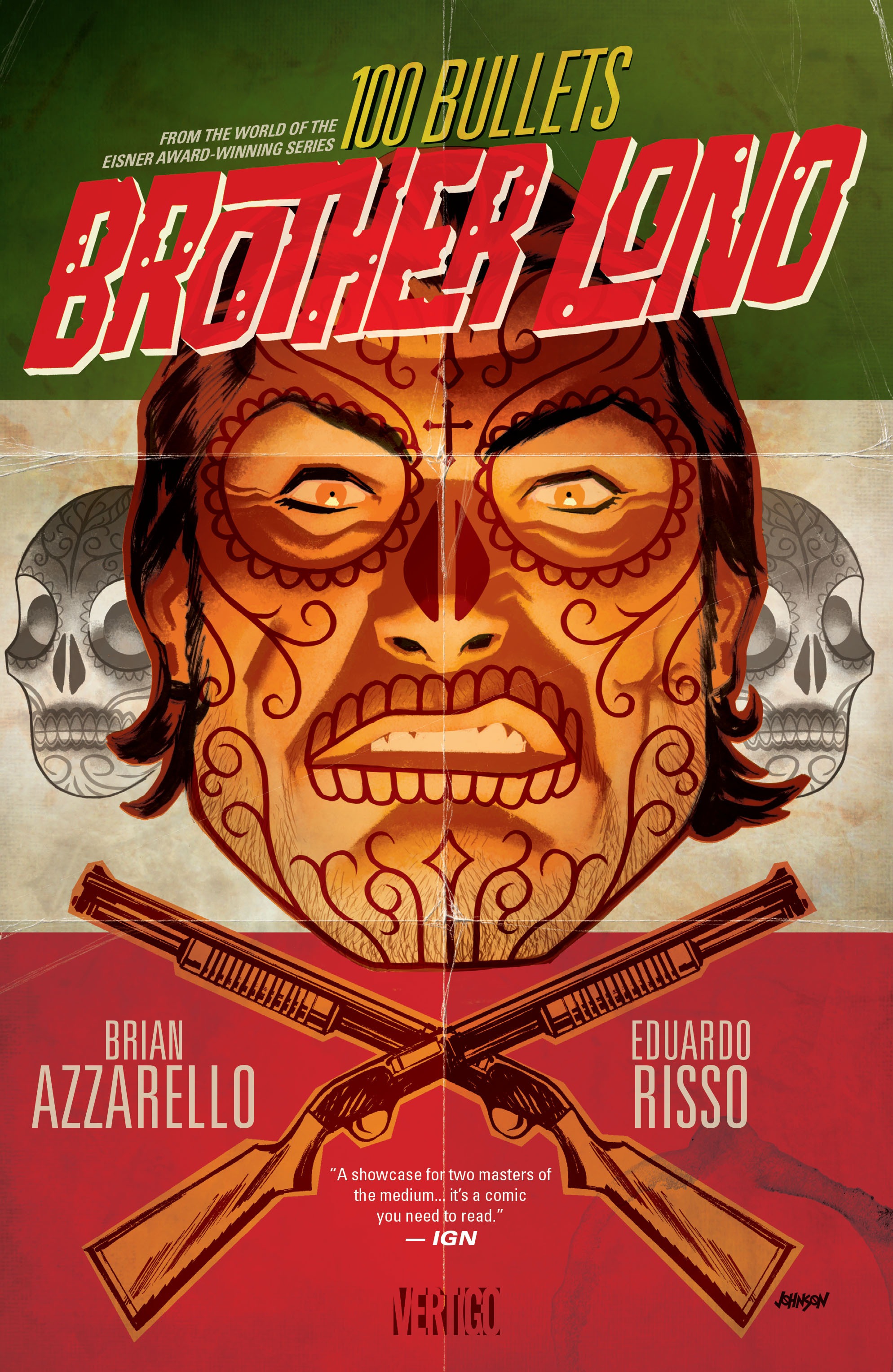 100 Bullets: Brother Lono Full Page 1