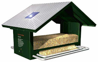 Solar Powered Anti-Squirrel Bird Feeder