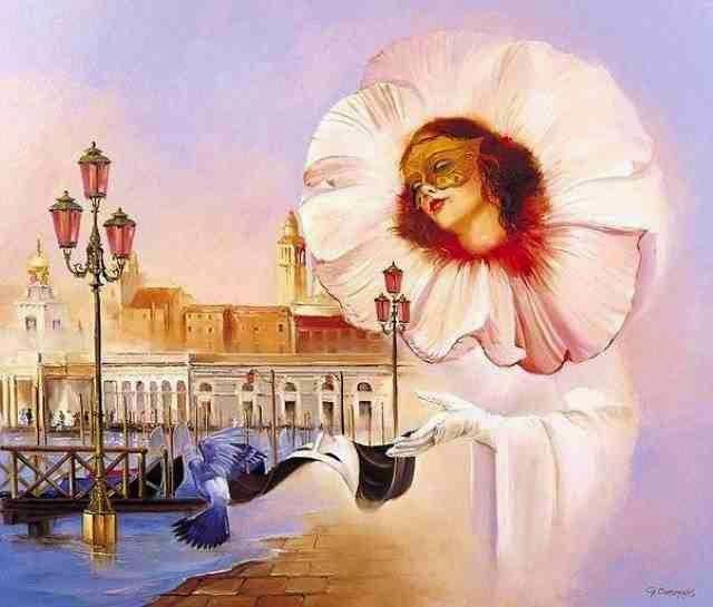 Совершенная красота жизни. Georges Corominas