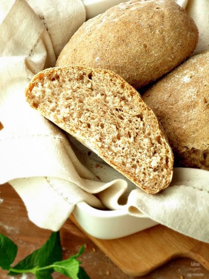 Pan integral casero fácil