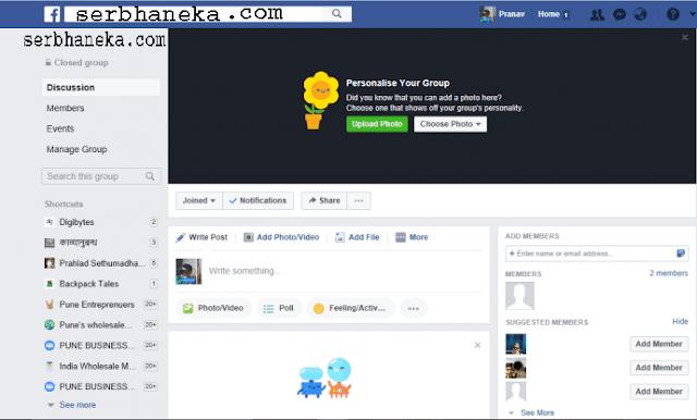 Inilah 2 Cara Menghapus Grup Facebook Dari Android & Windows / Mac 5
