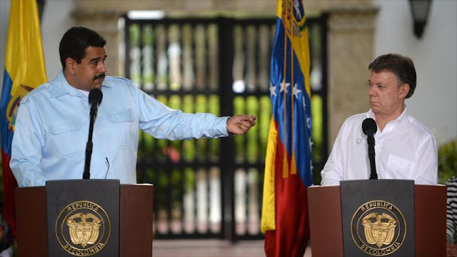 Maduro acusa a Santos de producir y exportar droga a todo mundo