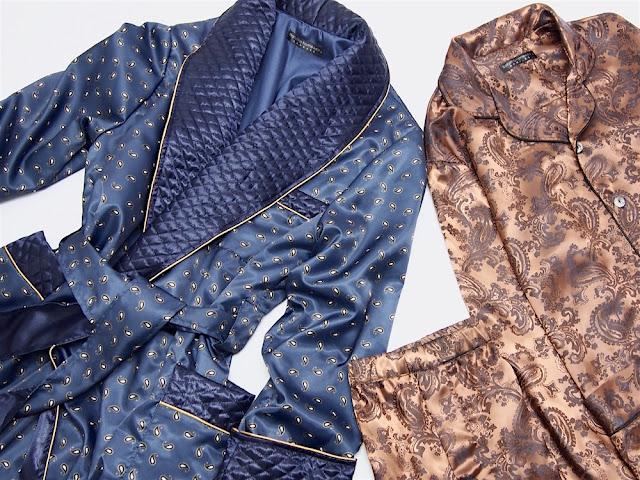 mens silk pajamas classic tailored bespoke pyjamas set for men custom made