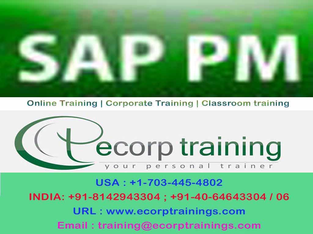 Best Sap Pm Training Online In Hyderabad Online Training Training